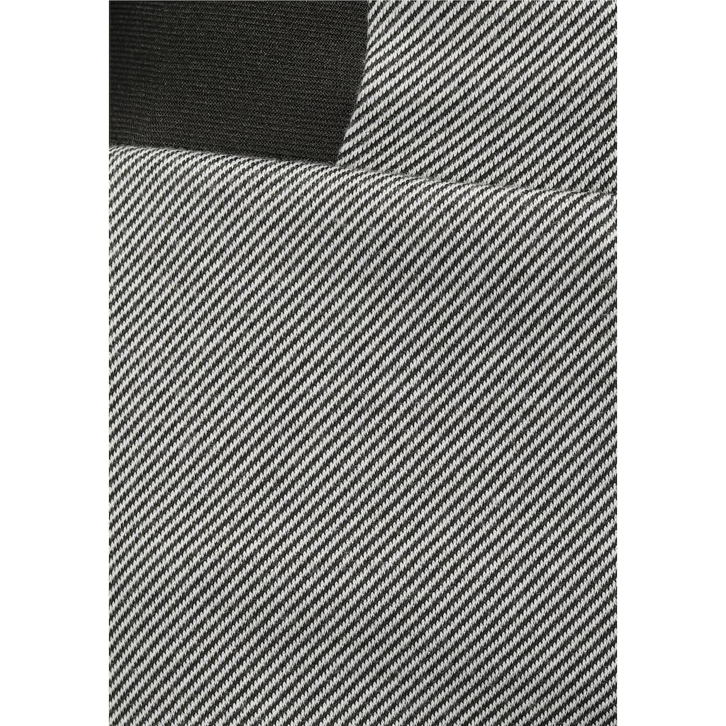 AJC Schlupfhose, mit modischem Bund in Kombination aus Blende und Kontraststreifen