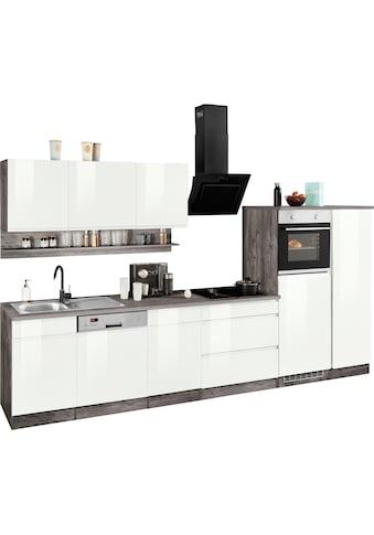 HELD MÖBEL Küchenzeile »Virginia«, ohne E-Geräte, Breite 350 cm kaufen