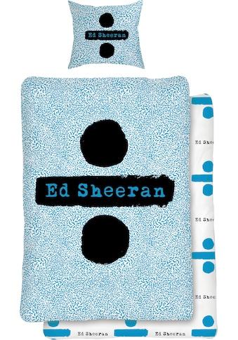Jugendbettwäsche »Logo«, mit Ed Sheeran Schriftzug kaufen