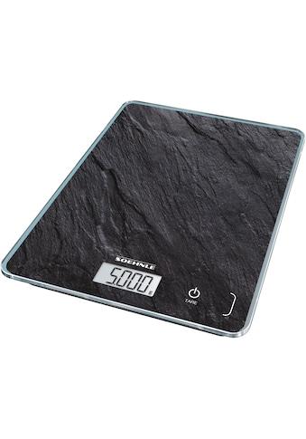 Soehnle Küchenwaage »Page Compact 300 Slate«, Tragkraft 5 kg, 1 g genaue Teilung kaufen
