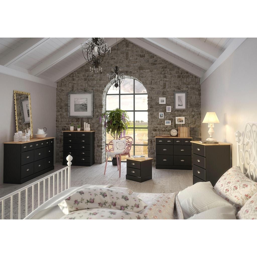 Home affaire Kommode »Nola«, mit hübschen Muschelgriffen, Breite 82 cm