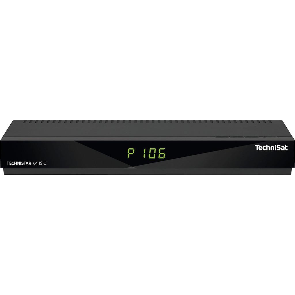 TechniSat Kabel-Receiver »K4 ISIO«, (LAN (Ethernet) USB-Mediaplayer)
