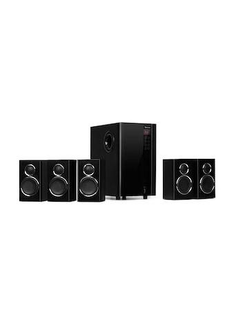 Auna 5.1 Lautsprechersystem 200 W max. OneSide Subwo »MM - 5.1 - HS« kaufen