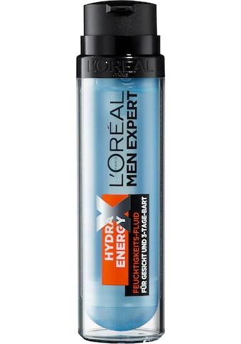 L'ORÉAL PARIS MEN EXPERT Gesichtspflege »Hydra Energy Feuchtigkeitsfluid«, beruhigt... kaufen