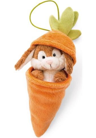 Nici Kuscheltier »Forrest Friends, Hase in Karotte, 15cm«, mit Loop-Anhänger kaufen