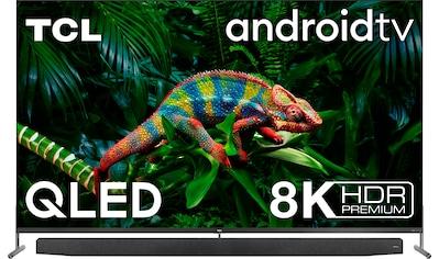 """TCL QLED-Fernseher »75X915X1«, 189 cm/75 """", 8K, Smart-TV, mit integrierter, ausfahrbarer Kamera und ONKYO Soundsystem kaufen"""