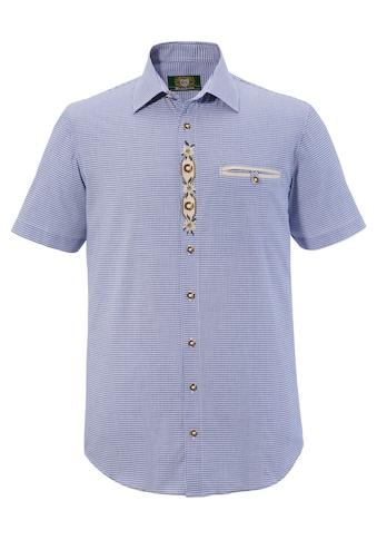 OS - Trachten Trachtenhemd mit dezenten Trachtenelemente kaufen