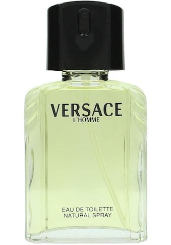 Versace Eau de Toilette »L'Homme« kaufen