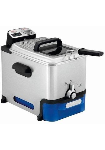 Tefal Kaltzonenfritteuse FR8040 Oleoclean Pro Inox & Design, 2300 Watt, Fassungsvermögen 3,5 Liter kaufen