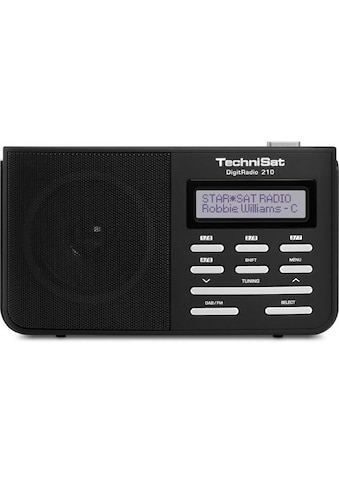 TechniSat mobiles Digitalradio für DAB+/DAB/UKW-Empfang »DigitRadio 210« kaufen