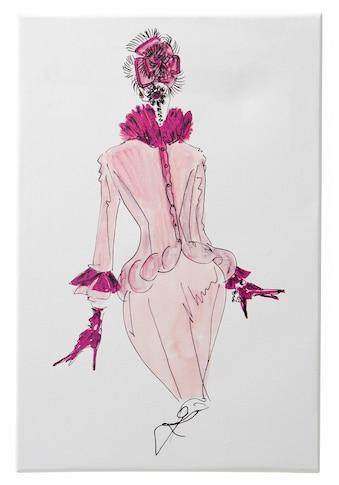 Guido Maria Kretschmer Home&Living Leinwandbild »Mode«, 40/60 cm, gerahmt, Keilrahmen kaufen