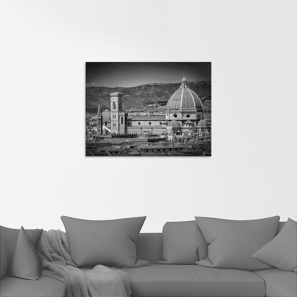 Artland Glasbild »Florenz Piazzale Michelangelo«, Italien, (1 St.)