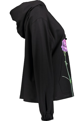 IMPERIAL Hoodie »IMP-FA45A«, mit ausdrucksstarkem Mohn-Blumen-Print kaufen