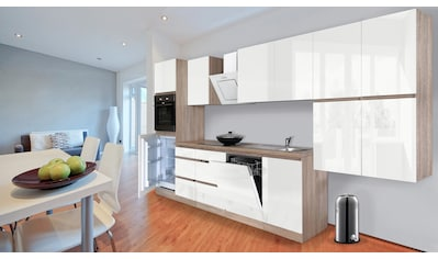 RESPEKTA Küchenzeile »Boston«, mit E-Geräten, Breite 380 cm kaufen