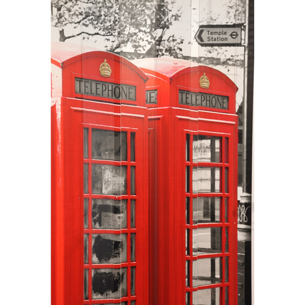 """Falttür »Vera«, für Türbreiten bis 89,5 cm, mit Motiv """"Telefonzelle"""""""