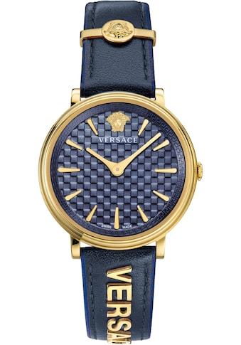 Versace Schweizer Uhr »V - CIRCLE/ LOGOMANIA EDITION, VE8101219« kaufen