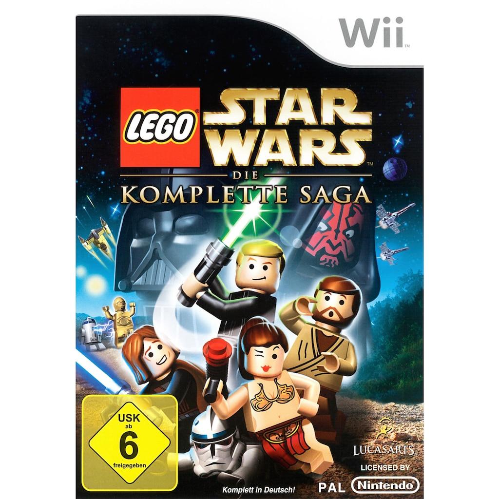 Lucas Arts Spiel »LEGO Star Wars: Die komplette Saga«, Nintendo Wii, Software Pyramide