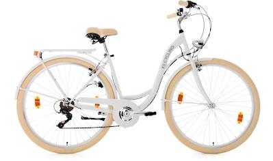 KS Cycling Cityrad »Balloon«, 6 Gang Shimano Tourney RD - TZ 50 Schaltwerk, Kettenschaltung kaufen