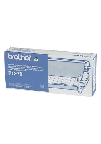Brother Thermofolie und Kassette »PC - 70« kaufen