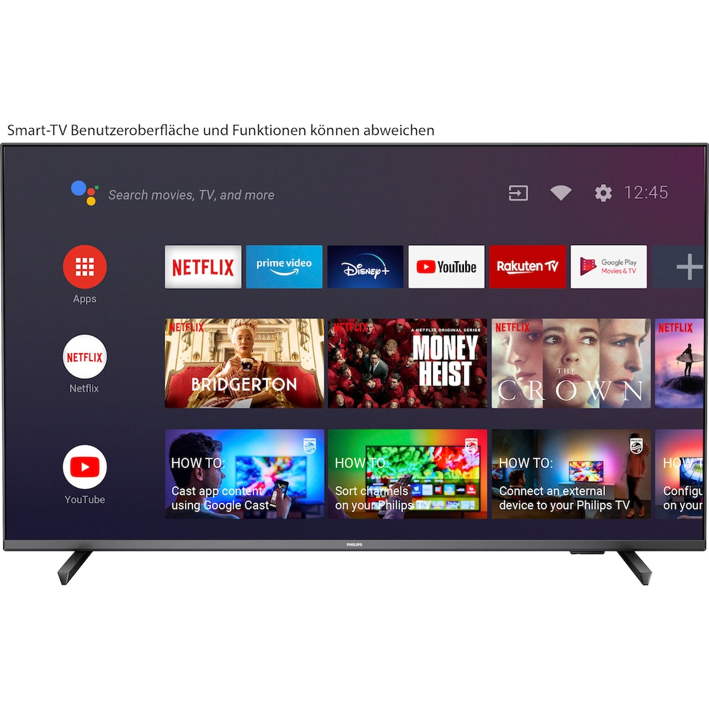 """Philips LED-Fernseher »55PUS7906/12«, 139 cm/55 """", 4K Ultra HD, Android TV-Smart-TV"""