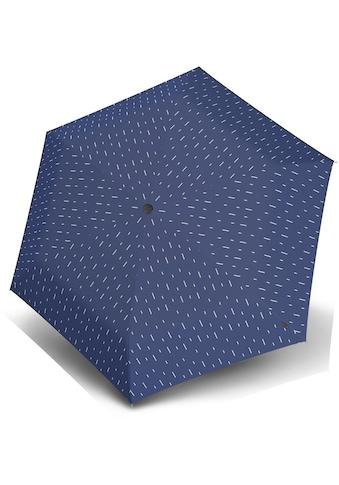 Knirps® Taschenregenschirm »US.050 Ultra Light Slim Manual, rain blue« kaufen
