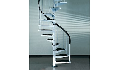 STARWOOD Spindeltreppe »AF26«, B: 110 cm, 12 Stufen, weiß kaufen