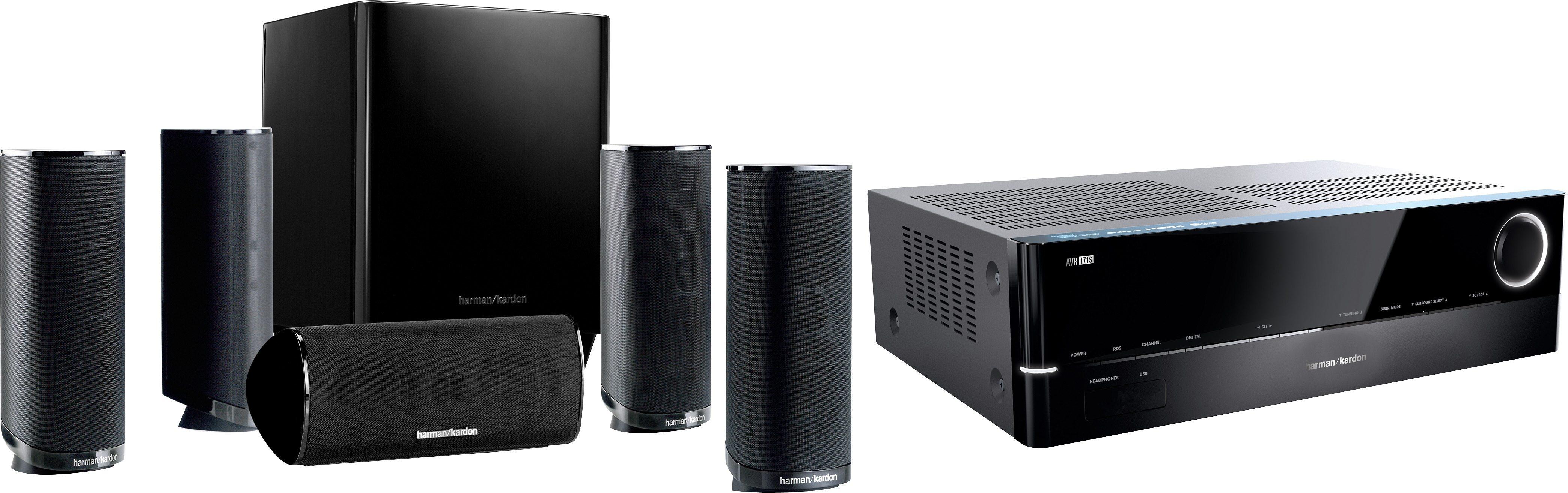 Harman/Kardon »Harman/Kardon HD Com 1716S 5.1 Heimkinosystem (700 W, Bluetooth, Spotify)« 5.1 Heimkinosystem (700 Watt, 3D-fähig)