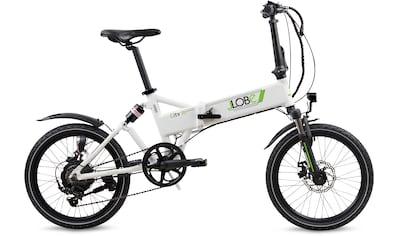 LLobe E - Bike »City III weiß«, 7 Gang Shimano Kettenschaltung, Heckmotor 250 W kaufen