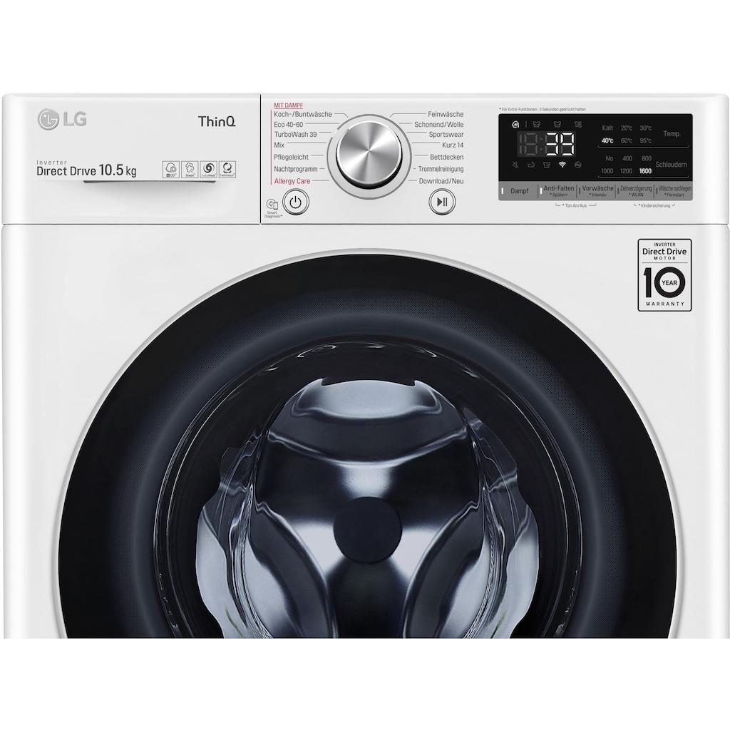 LG Waschmaschine »F6WV710P1«, F6WV710P1, 10,5 kg, 1600 U/min