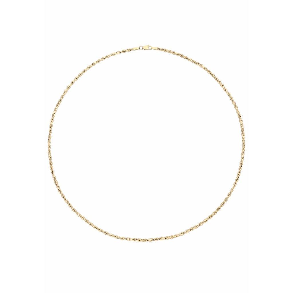 Firetti Goldkette »Korderlkettengliederung, glänzend«