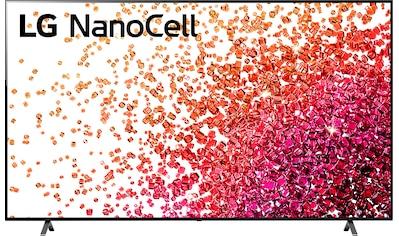 "LG LCD-LED Fernseher »75NANO759PA«, 189 cm/75 "", 4K Ultra HD, Smart-TV, NanoCell kaufen"