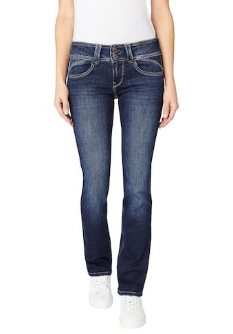 Pepe Jeans Gerade Jeans »NEW GEN«, Straight Passform mit mittelhohem Doppel-Knopf-Bund... kaufen