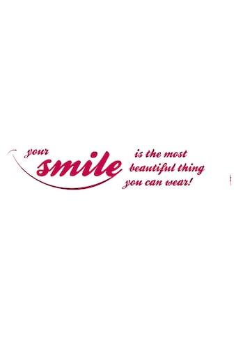 KOMAR Packung: Wandtattoo »Your Smile«, 5 - teilig kaufen