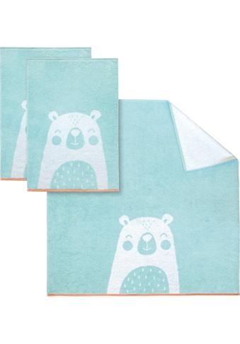 Dyckhoff Handtuch Set »Bear«, mit niedlichem Bärenmotiv kaufen
