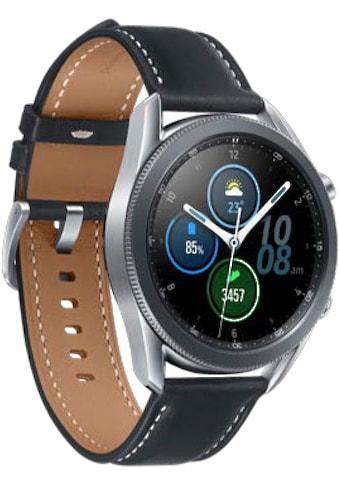 Samsung Galaxy Watch3, Edelstahl, 45 mm, (SM - R840) Smartwatch (3,4 cm / 1,4 Zoll) kaufen