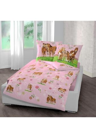 Pferdefreunde Kinderbettwäsche »Pferde«, mit Pferdemotiven kaufen