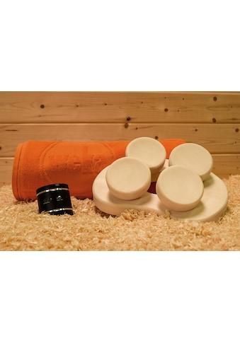 WEKA Set: Lautsprecher mit Kopfstütze und Handtuch kaufen