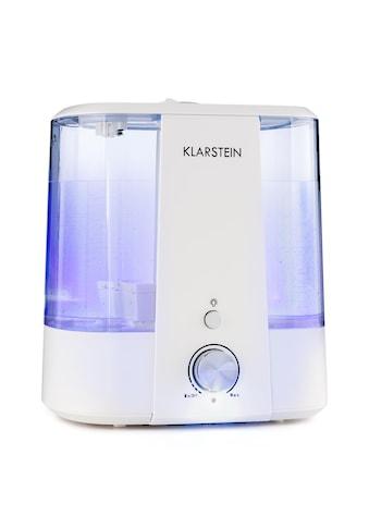 Klarstein Ultraschall-Luftbefeuchter Aroma-Diffusor 6l LED-Licht weiß kaufen