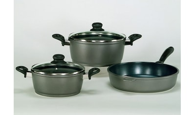 Krüger Topf-Set »Potsdam«, Aluminiumguss, (Set, 5 tlg.), Induktion kaufen