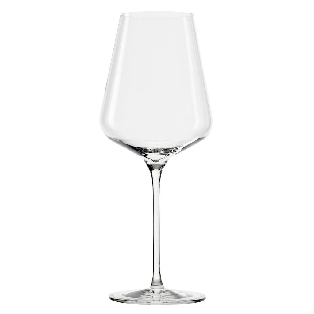 Stölzle Weinglas »QUATROPHIL«, (Set, 6 tlg.), 6-teilig