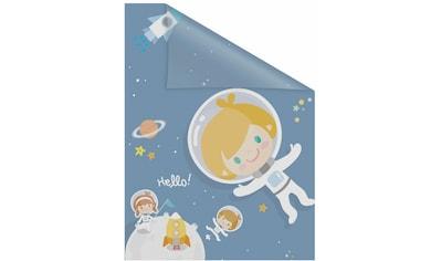 Fensterfolie, »Astronaut«, LICHTBLICK, blickdicht, strukturiert kaufen