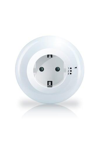 Brandson LED Nachtlicht mit Steckdose »3 Helligkeitsstufen / Helligkeits/Dämmerungssensor« kaufen
