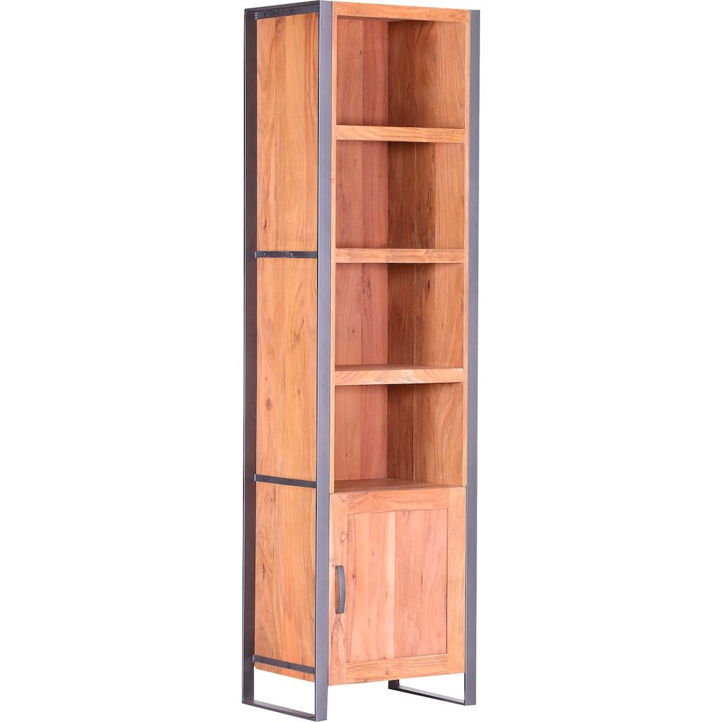 Gutmann Factory Regal »Alvara«, Fronten wechselbar, Massivholz oder Rattan Geflecht