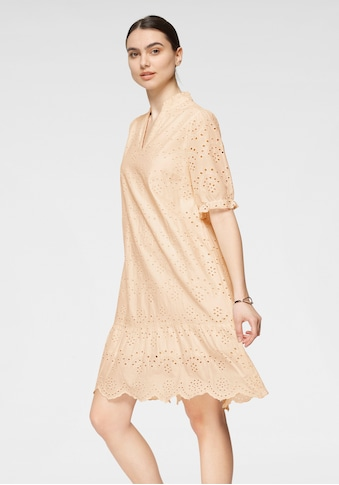 Saint Tropez Blusenkleid, in romatischem Lochstickerei -Design kaufen