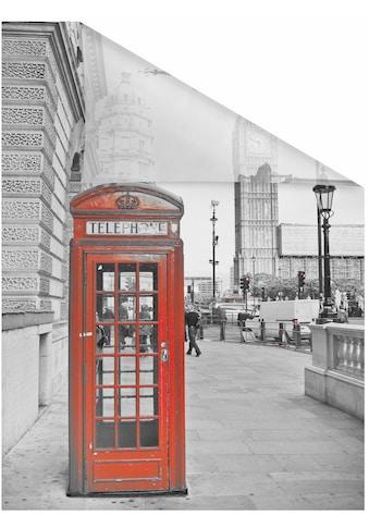 LICHTBLICK ORIGINAL Fensterfolie »London«, 1 St., blickdicht, strukturiertKlebepunkte,... kaufen