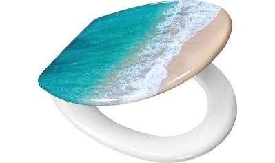 KLEINE WOLKE Komplett - Set: WC - Sitz »Waikiki«, 37x 45 cm kaufen