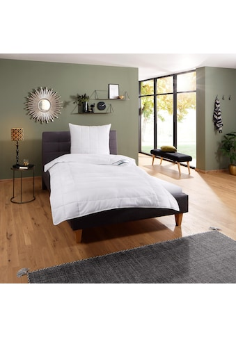 fan Schlafkomfort Exklusiv Microfaserbettdecke »Komfort Plus«, leicht, (1 St.), zu... kaufen
