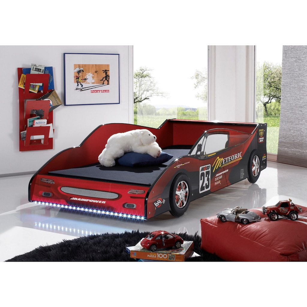 Autobett, inklusive LED-Beleuchtung