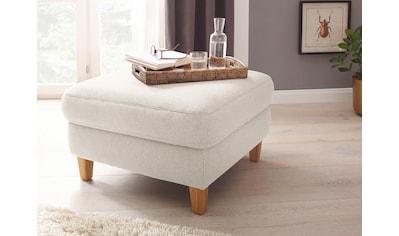DELAVITA Hocker »Kitzbühl«, passend zu Sofas »Kitzbühl«, Beine Eiche geölt kaufen