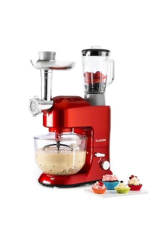 Klarstein Küchenmaschine Rührmaschine Fleischwolf Mixer 1200W kaufen